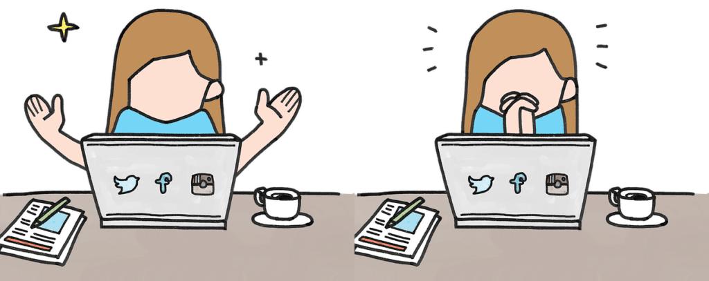 come gestire i social media