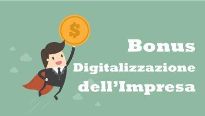 Bonus digitalizzazione dell'impresa
