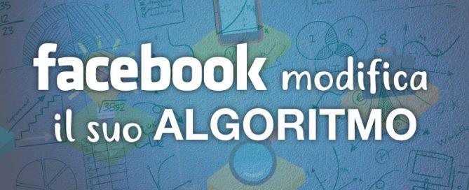 modifica algoritmo facebook