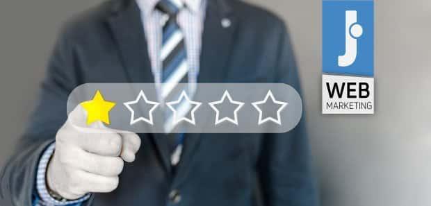 Come gestire Recensioni e Feedback negativi dei clienti