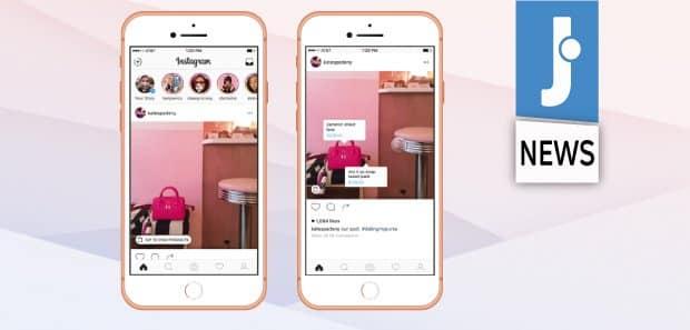 Il Tag Shopping di Instagram arriva in Italia