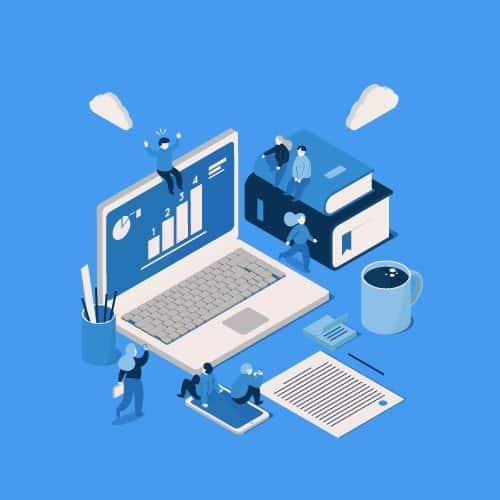 costruzione profilo pagina social azienda