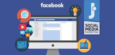 scegliere modello pagina attività facebook