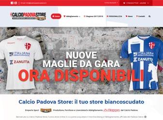 e-commerce calcio padova store