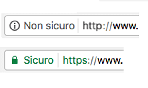 Siti HTTPS e HTTP
