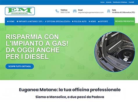 Sito web Euganea Metano