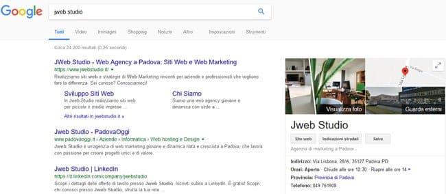 scheda my business jweb